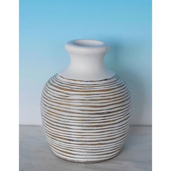 Round neck vase
